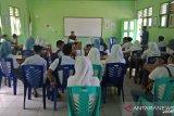 Babinsa bekali  wawasan kebangsaan siswa madrasah di kepulauan