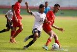 Pemain Persipura U-16 Mikael Tata jalani pemusatan latihan Timnas di Yogyakarta