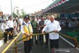 Bupati meresmikan ruas jalan batas Kota Bantul usai dilebarkan
