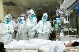 Korban tewas virus corona di China capai 132 orang