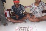 Polres Keerom tangkap dua pengedar Narkotika ganja