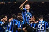Inter Milan amankan tiket semifinal setelah singkirkan Fiorentina 2-1