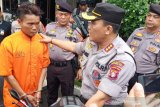 Polisi tembak residivis pencuri sepeda motor di Palangka Raya