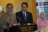 40 mahasiswa asal Malaysia kembali dari China