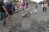 Pengendara motor tertabrak KA  di perlintasan Kabupaten OKU Timur