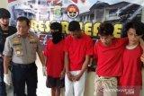 Polisi Bekasi bekuk empat buronan DPO begal
