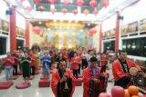 Klenteng Xian Ma di Makasar  gelar ritual sembahyang  meja tinggi