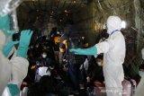 Pesawat TNI membawa warga dari Wuhan tiba di Natuna