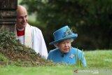 Pertama kalinya Ratu Elizabeth tampil di publik 'Megxit'