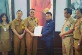 Kepala PUPR Kapuas dan Pulpis audiensi ke Ketua DPRD Kalteng