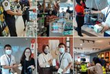Antisipasi corona, pemindaian suhu tubuh penumpang pesawat di BIL diintensifkan