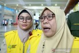 KKP Palembang berikan kartu kewaspadaan pada penumpang dari China