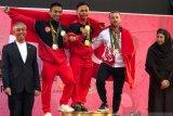 Eko Yuli dan Triyatno raih medali emas di Iran