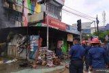 Kebakaran di Medan, tiga orang terluka