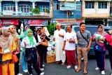 Ormas Islam di Kabupaten OKU bagikan masker  antisipasi virus Corona