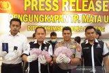 Polda Kalteng tangkap para pelaku pencetak dan pengedar uang palsu