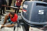Polda NTB menangkap buronan kasus pencurian mesin kapal