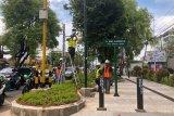 Trotoar Jalan Sudirman Yogyakarta akan bebas dari PKL