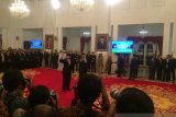 Presiden Jokowi melantik Yudian Wahyudi menjadi Kepala BPIP