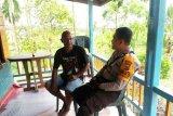 Polres Keerom berikan pesan Kamtibmas kepada warga Kampung Warbo