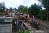 Pembangunan jembatan darurat di Lombok Utara masih hadapi masalah