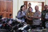 Polres Jayawijaya kembalikan 15 unit motor hasil  curian