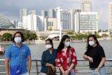 Singapura menaikkan peringatan virus corona ke tingkat SARS
