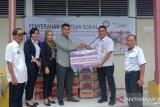 Serikat pekerja BP Jamsostek turut bantu korban banjir di Kabupaten Soppeng