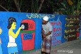 Pemuda Lombok Barat sulap tembok jadi kanvas gambar 3D kampanye kali bersih