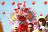 Ritual naga buka mata di Pontianak jelang Cap Go Meh