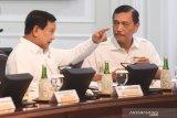 Prabowo-Luhut membahas rencana kerja sama persenjataan dengan Abu Dhabi