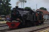 Kereta api uap untuk wisata