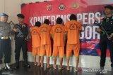 Polisi tangkap pemuda 26 tahun tersangka bos tambang emas ilegal di Bogor