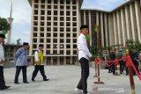 Jokowi akan bangun terowongan bawah tanah dari Istiqlal ke Katedral