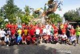 Sambut Cap Go Meh, Komunitas Masyarakat Tionghoa jalan pagi ceria