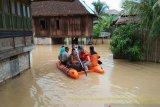 Ratusan rumah warga  di Kabupaten OKU dilanda bencana banjir