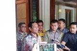 Mahfud memimpin rapat bahas Pulau khusus tanggulangi penyakit