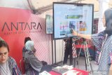 Hari Pers Nasional (HPN) 2020 di Kalimantan Selatan,  Booth ANTARA diramaikan lomba presenter TV