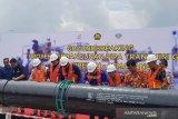 Jaringan pipa gas Cirebon-Semarang sepanjang 255 km mulai dibangun