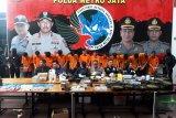 Polda Metro amankan 13 tersangka kasus tembakau gorila