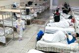Terdapat 1.064 kematian di Hubei terkait corona hingga Selasa