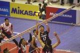 Tumbangkan Surabaya Bhayangkara Samator 3-1 tim putra Jakarta Pertamina juara putaran pertama Proliga 2020