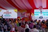 Presiden Jokowi mengaku  kapok tidak hadir di HPN