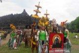 Ruwat Rawat Candi Borobudur sarana pelestarian seni budaya