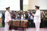 Saply TH resmi dilantik jadi Bupati Mesuji