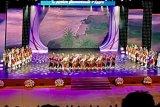 Mahasiswa Indonesia di Moskow persembahkab Tari Indang