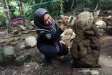 Puluhan batu berbentuk unik ditemukan di kawasan wisata Tasikmalaya