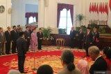 Presiden melantik Laksamana Madya TNI Aan Kurnia sebagai Kepala Bakamla