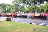 PLN Sulbangsel gelar upacara bulan keselamatan dan kesehatan kerja