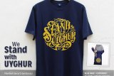 ACT raising funds for  Uighur Muslims selling T-shirts